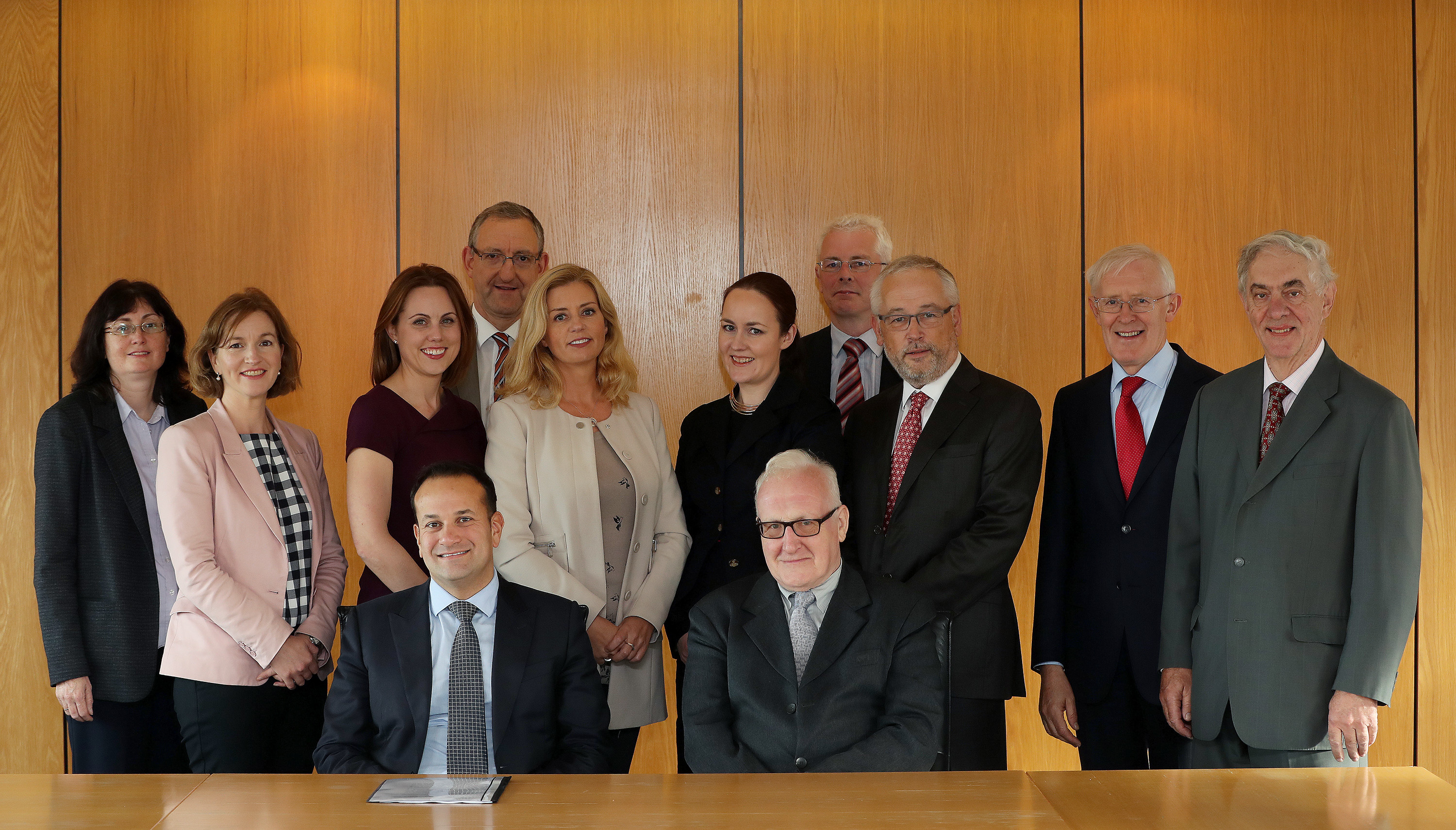 Pensions Council photo with Minister Varadkar